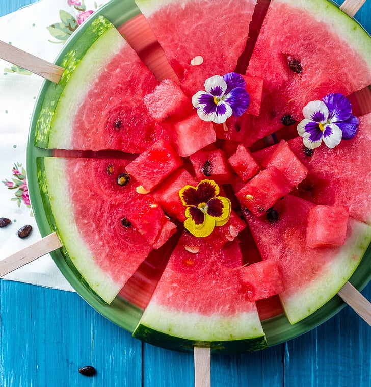 DIY watermeloen ijsje