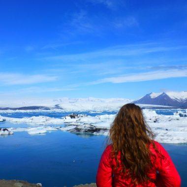 Jokulsarlon IJsland panorama