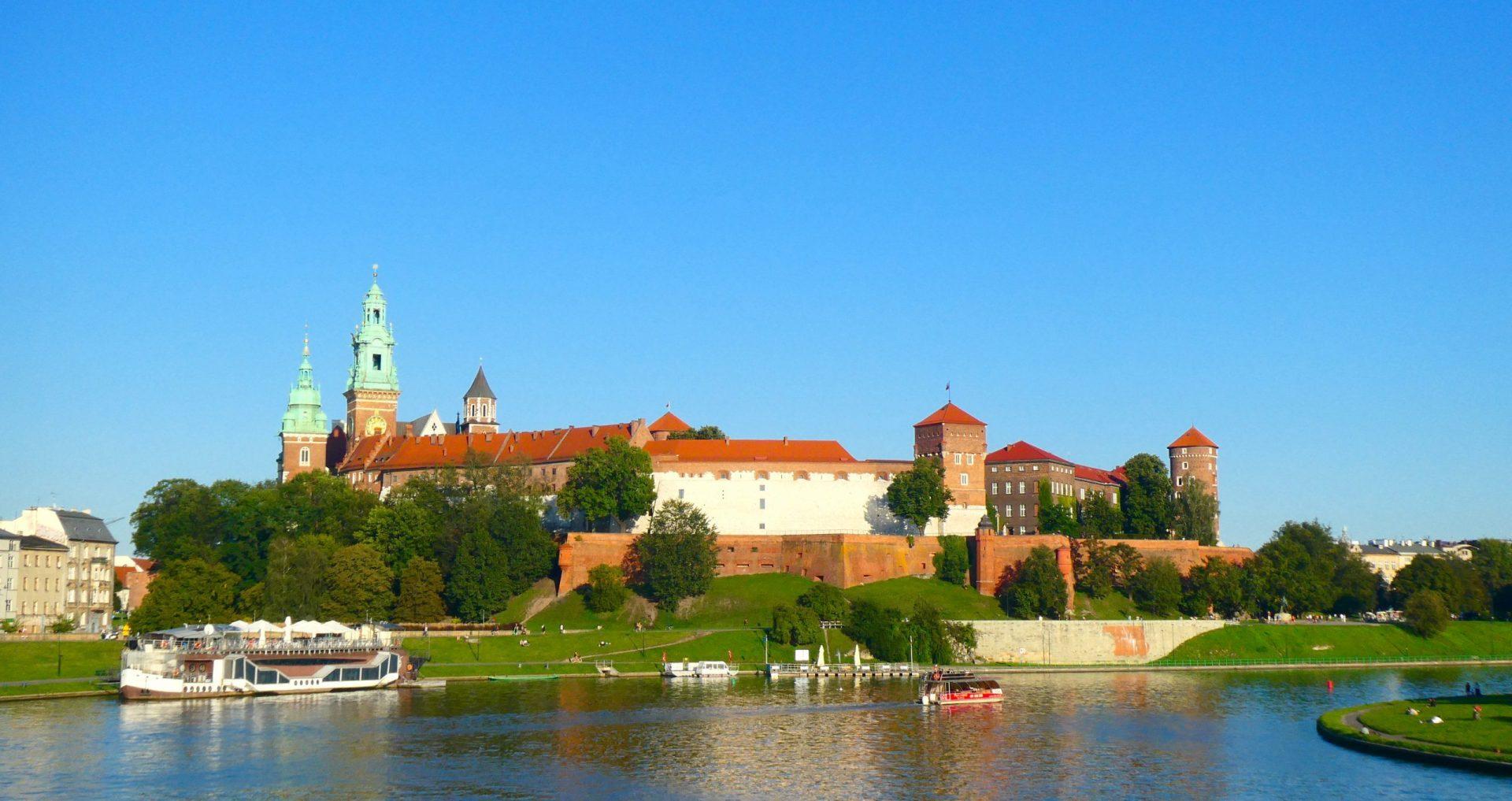 Wawel Castle Krakau Europa