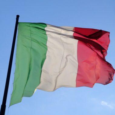 Coverfoto vlag van italie