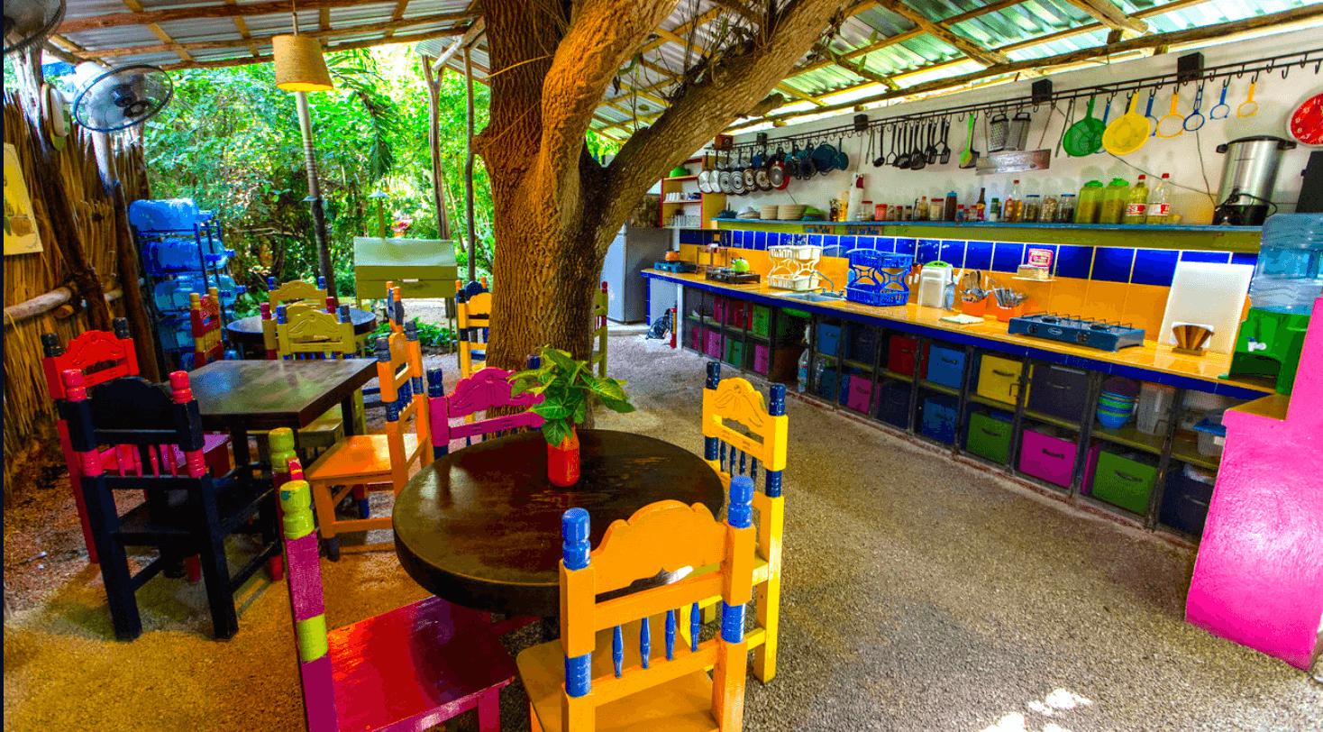 Keuken hostel Mexico cover