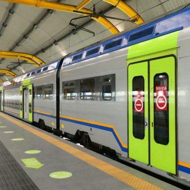 Coverfoto regionale trein vliegveld Rome