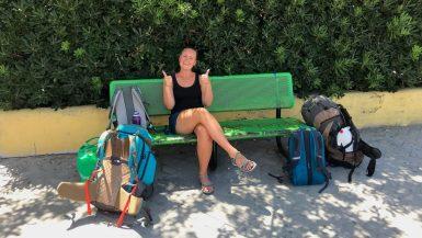 Backpacks met Annick