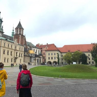Wawel hill Krakau met Barbara cover