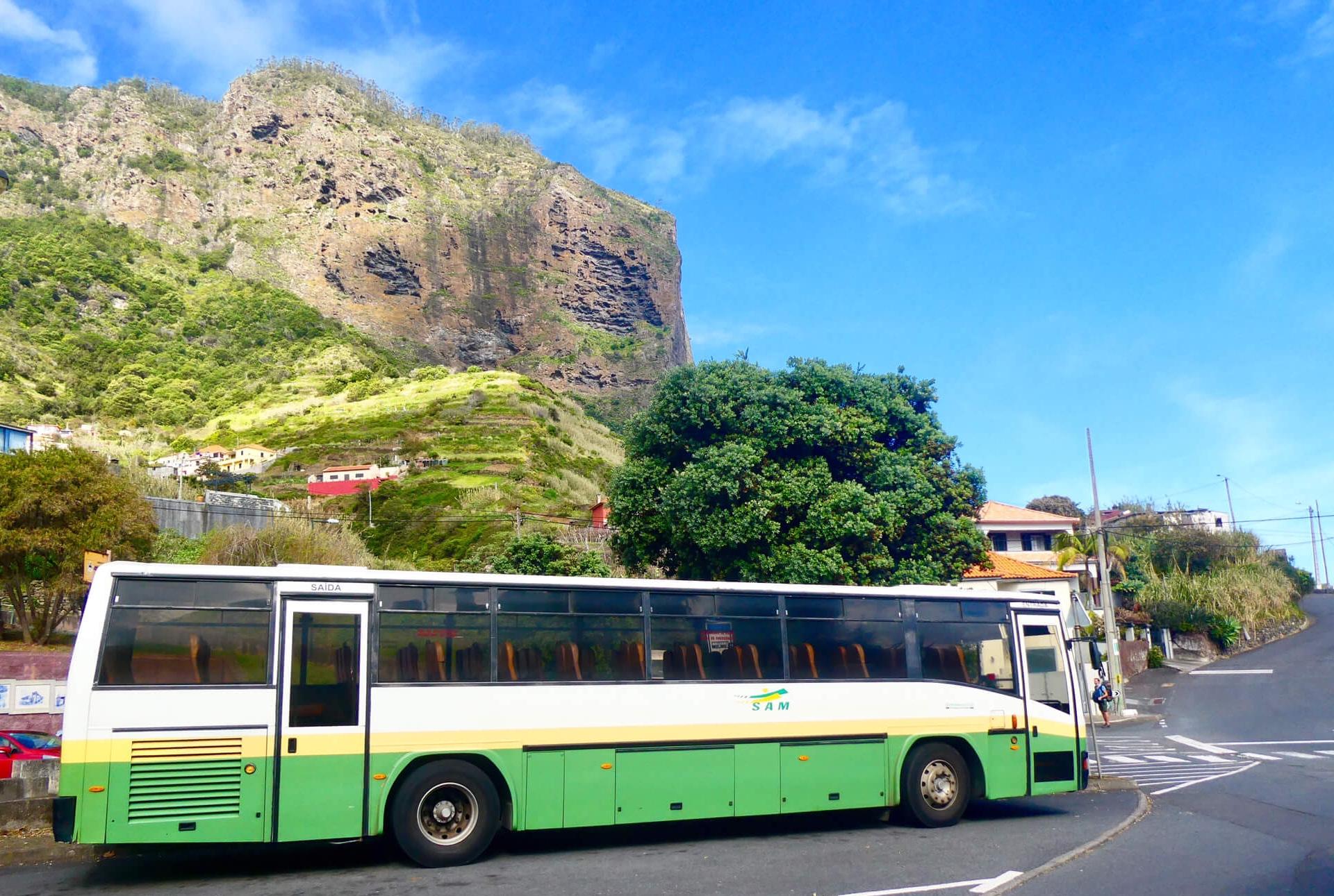 Bus SAM Madeira vliegveld