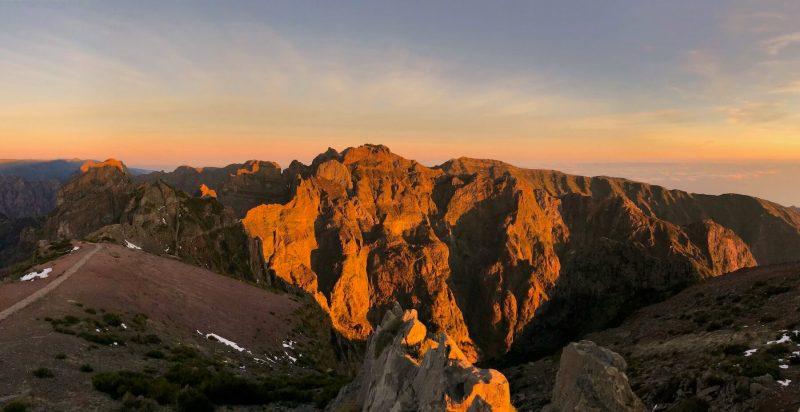 Madeira Pico de Areeiro naar Pico Ruivo