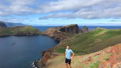 Uitzicht Ponta de Sao Lourenco Madeira