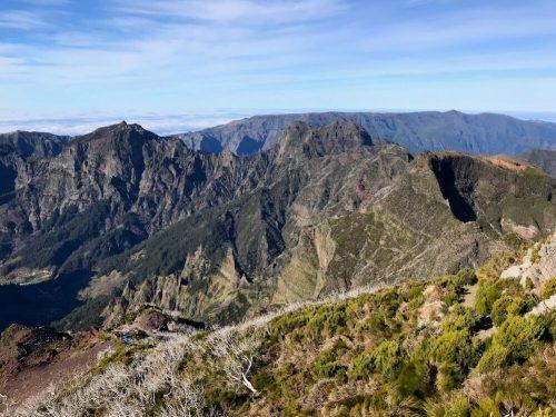 Uitzicht top Pico Ruivo