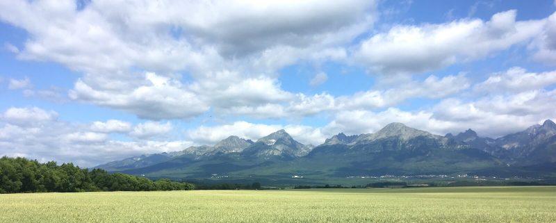 Slowakije uitzicht op Tatra bergen