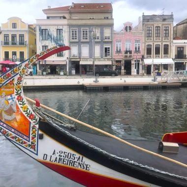 rondvaartboot Aveiro Portugal cover