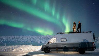 Reisverhaal Sharon en Peer Minipensioen Noorderlicht Lapland
