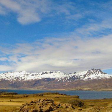Oost IJsland bergen en fjorden