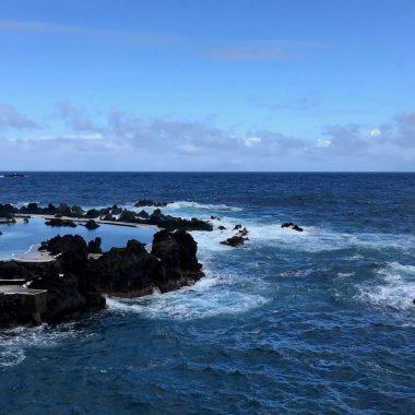 Porto Moniz zee en natuurlijke zwembaden Madeira
