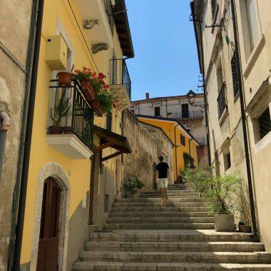 Italië slapen op mooie plekken Pratola Peligna