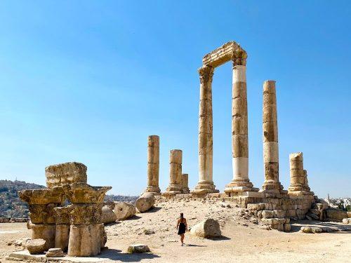 Citadel Amman Jordanië Jordan pass