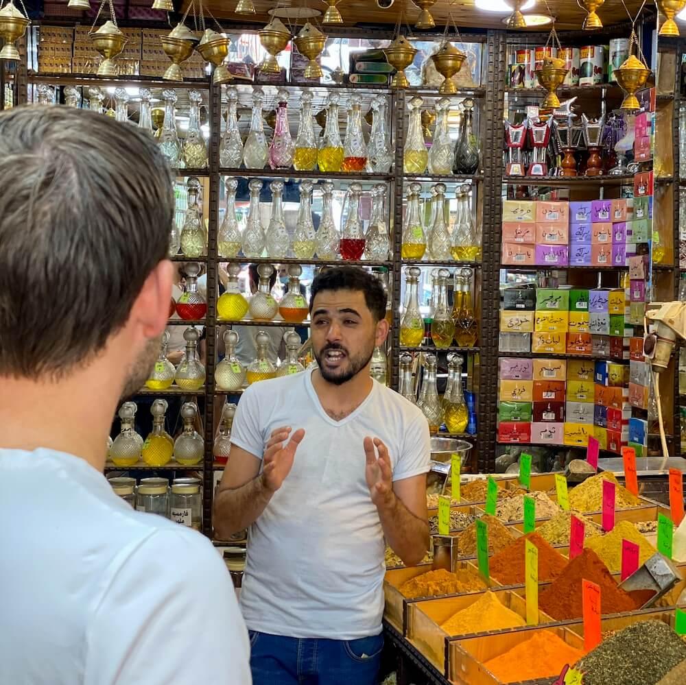 kruidenwinkel Amman free walking tour