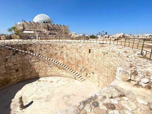 Citadel Amman Umayyad Palace en Cisterne
