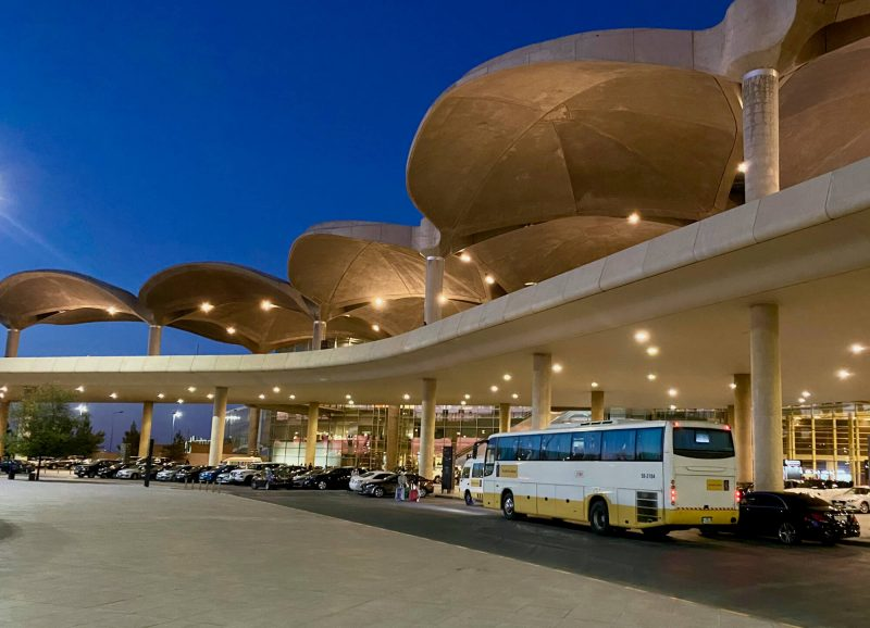 Sariyah airport express bus amman vliegveld QAIA