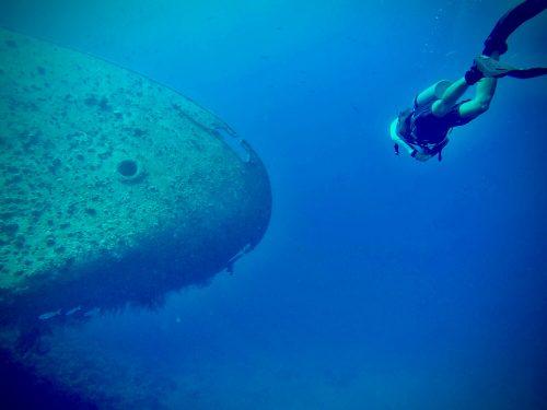 Ship wreck Cedar Pride Aqaba