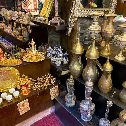 Soevenirwinkel in Amman