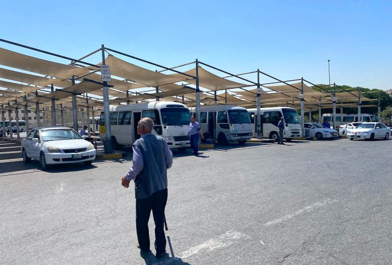 Tababour bus station Amman noord