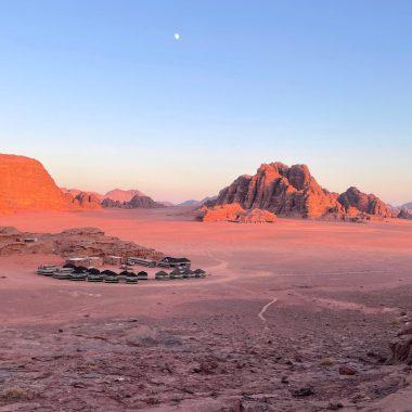 Wadi Rum Guide with a Camp Jordanië