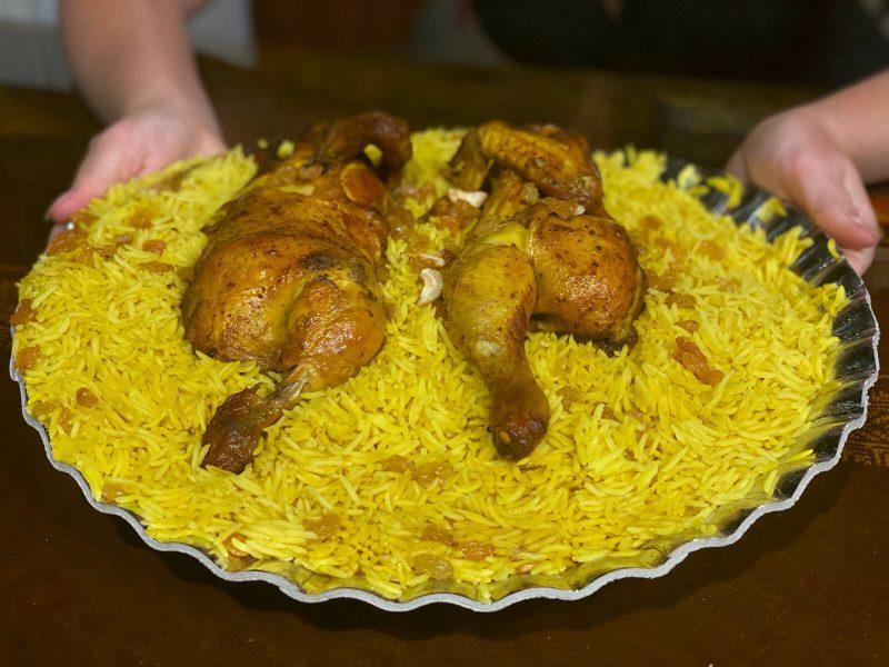 Whole chicken meal Talabat