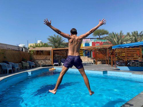 Zwembad Bedouin Garden Village